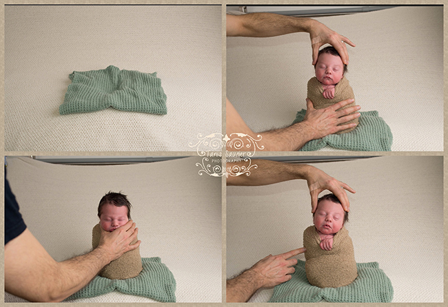 Tanis saucier photography montreal newborn photos safety posing