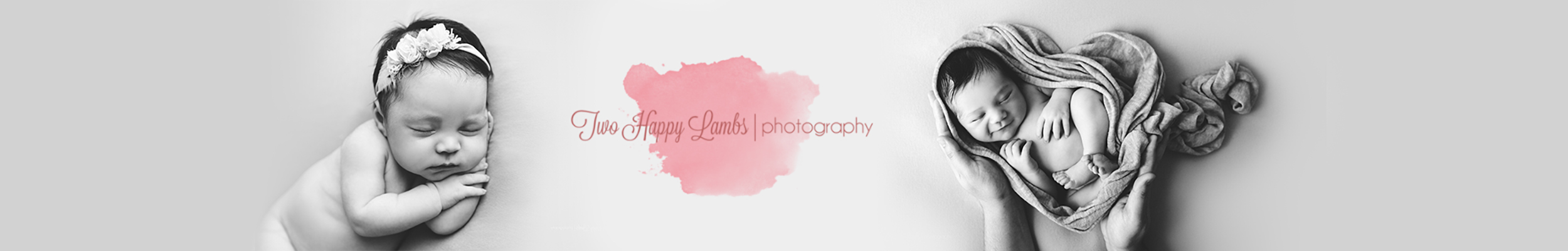 Two Happy Lambs Newborn Photography
